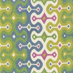 Schumacher Darya Ikat Jewel Fabric