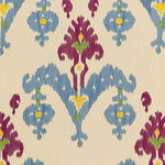 Schumacher Raja Embroidery Jewel Fabric
