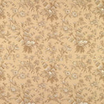 Brunschwig & Fils Shell Toile Cotton Print Beige On Sand Fabric