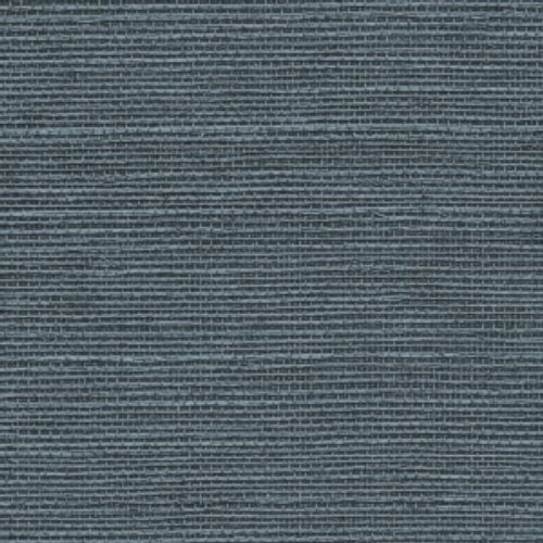 Phillip Jeffries Manila Hemp Peacock Blue Wallpaper - Wallpaper