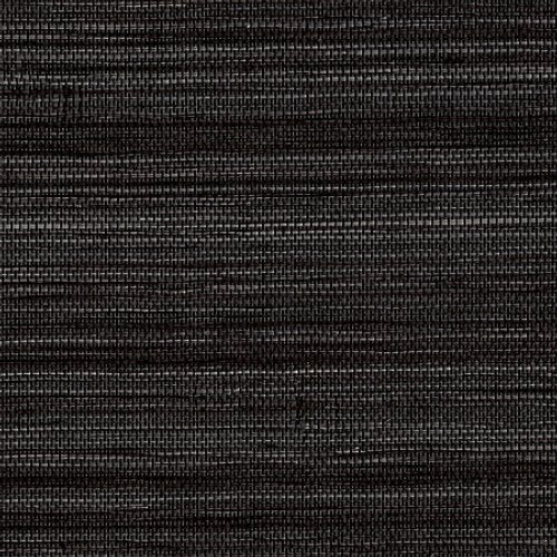 Phillip Jeffries Soho Hemp Black And White Wallpaper - Wallpaper