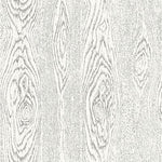 Cole & Son Wood Grain Black And White Wallpaper