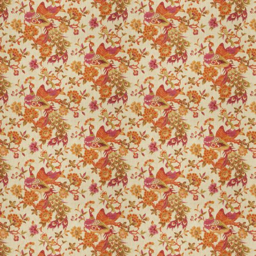 Fabricut Plamen Exotic Papaya Fabric - Fabric