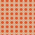 Fabricut Vlad Lattice Orange Fabric