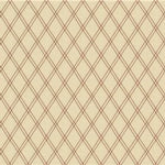 Lee Jofa Theodora Cream/Whiskey Fabric