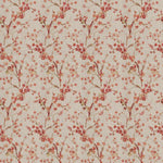 Fabricut Brovina Floral Coral Fabric