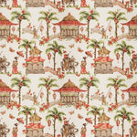 Fabricut Margin Coral Fabric