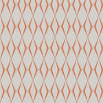 Fabricut Dada Diamond Tangerine Fabric