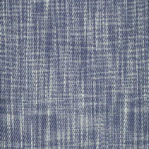 Brunschwig & Fils Charlecote Space Dyed Texture Indigo Fabric - Fabric