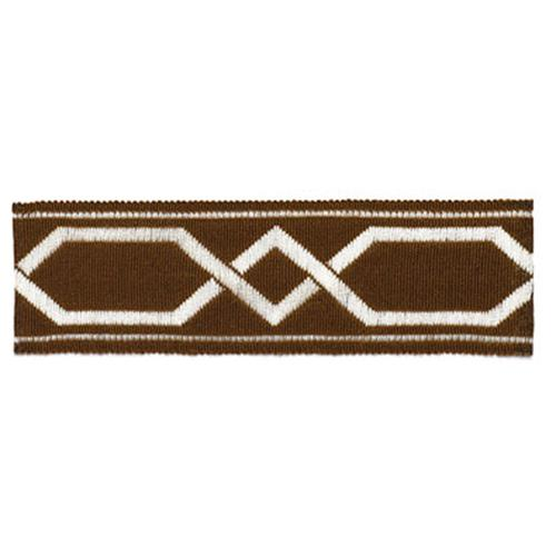 Schumacher Saint Tropez Braid Java Trim - Trim