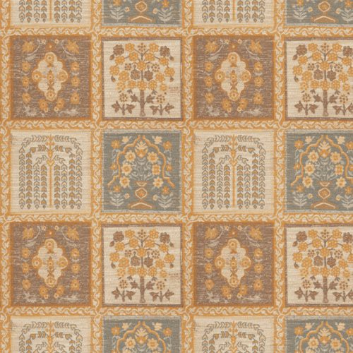 Stroheim Merced Ash Brown Fabric - Fabric