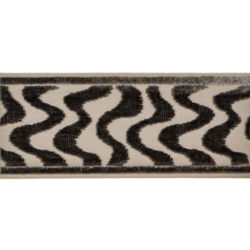 Brunschwig & Fils Jourdain Tape Graphite Trim - Trim