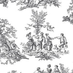 Norwall Romantic Toile Ch22508 Wallpaper