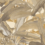 Norwall Polynesian Leaves Mh36537 Wallpaper