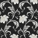 Norwall Floral Scroll Jc20065 Wallpaper
