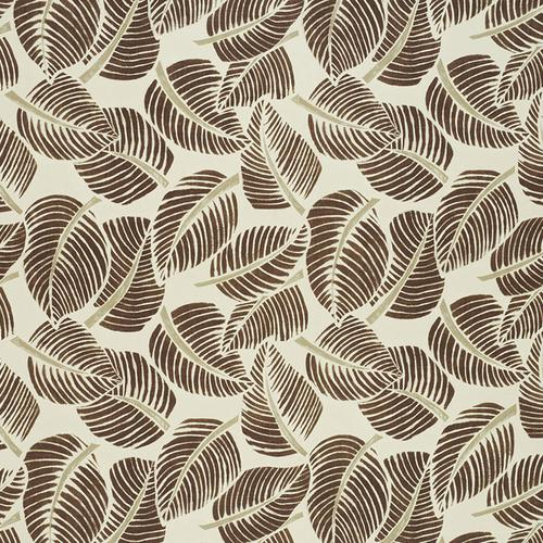 Schumacher Costa Rica Chocolate Fabric - Fabric