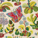 Schumacher Exotic Butterfly Multi Fabric