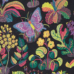 Schumacher Exotic Butterfly Black Fabric