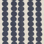 Schumacher Full Circle Navy Fabric
