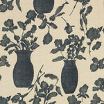 Schumacher Hugo Floral Faded Black Fabric