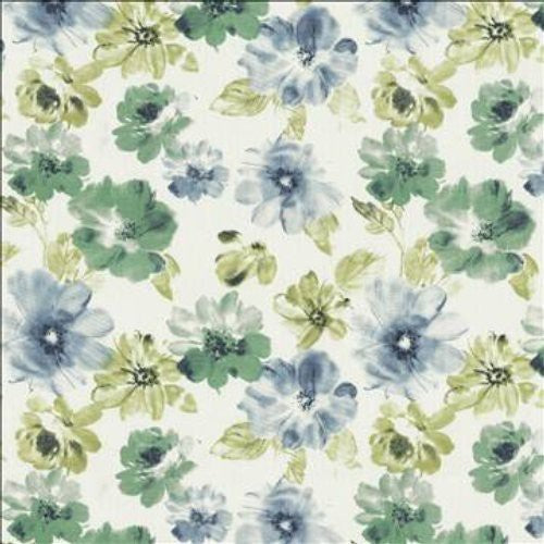 Kasmir Flower Garden Harbor Fabric - Fabric