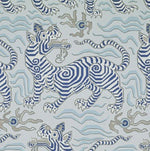 Clarence House Tibet Pale Blue Wallpaper
