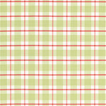 Schumacher St. Lucia Plaid Lime Fabric