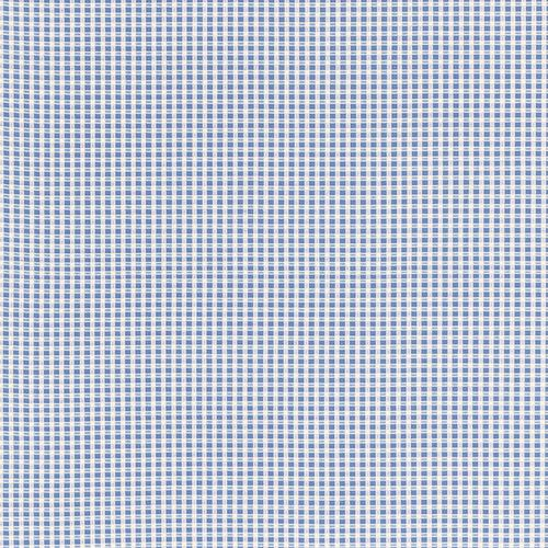 Schumacher Aruba Check Cornflower Fabric - Fabric