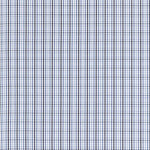 Schumacher Bahama Check Cornflower Fabric