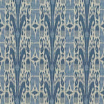Kasmir Binjai Ikat Denim Fabric