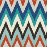 Kravet TIKAL FLAME PEACOCK Fabric