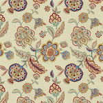 Lee Jofa Flores Red/Blue Fabric