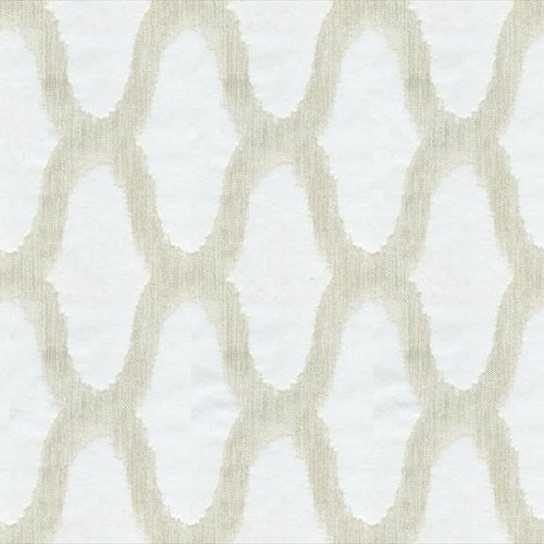 Kravet LUMIERE LACE SNOW Fabric - Fabric