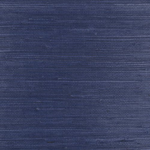 Phillip Jeffries Juicy Jute Ii Indigo Sea Wallpaper - Wallpaper