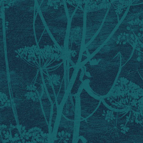 Cole & Son Cow Parsley Viridian Fabric - Fabric