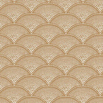 Cole & Son Feather Fan Ginger Fabric