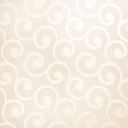 Fabricut Grand Scroll Beige Fabric - Fabric