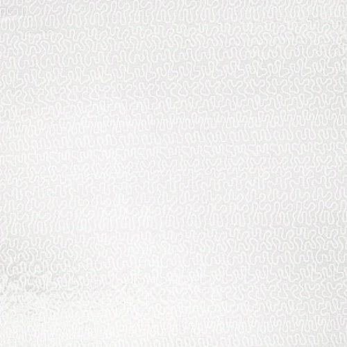 Fabricut Allover Wiggle White Fabric - Fabric
