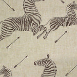 Scalamandre Zebras - Grasscloth Natural Wallpaper