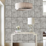 Cole & Son Kings Mirror Silver Wallpaper