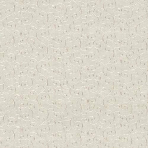 Kasmir Carolle Scroll Candlelight Fabric - Fabric