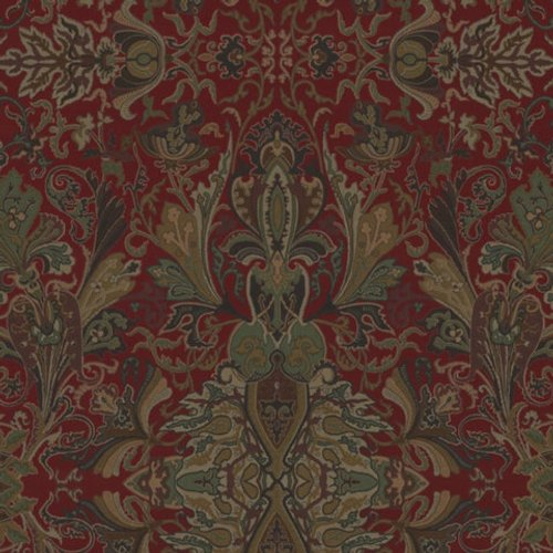 Ralph Lauren New Lakota Paisley Canterbury Red Fabric - Fabric