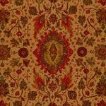 Schumacher Jahanara Carpet Tea Leaf Fabric