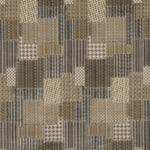 Mulberry Bohemian Patchwork Woodsmoke Fabric