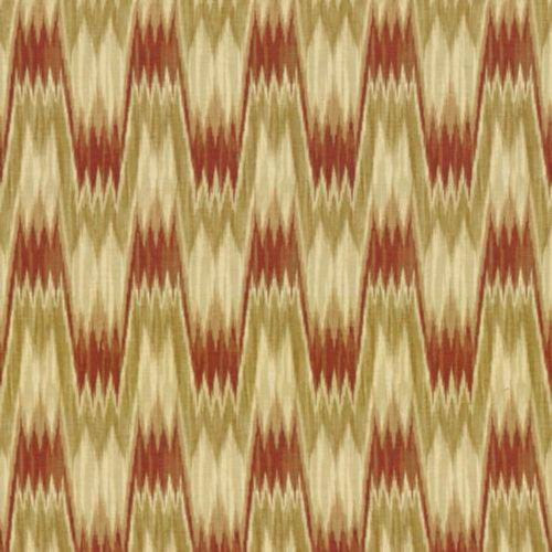 Kasmir Cavallo Flame Ginger Fabric - Fabric