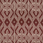Schumacher Asaka Ikat Raisin Fabric