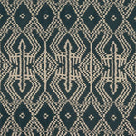 Schumacher Asaka Ikat Charcoal Fabric