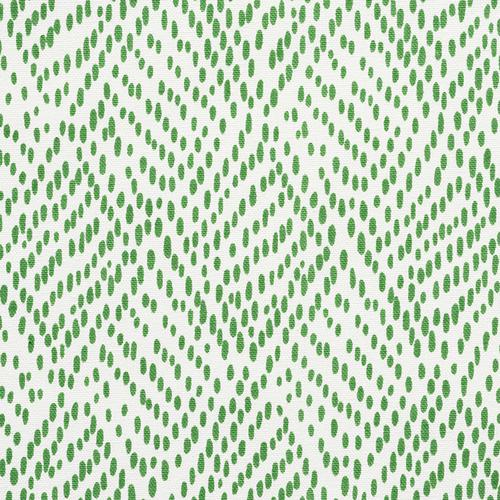 Schumacher Duma Diamond Green Fabric - Fabric
