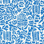 Schumacher Morris Blue Fabric