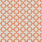 Stroheim Bombay Orange Fabric